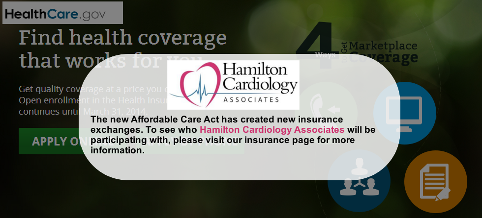 Read About Our Participation in the Affordable Care Act
